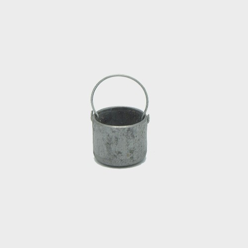 Krippendekoration Metallkessel 2cm