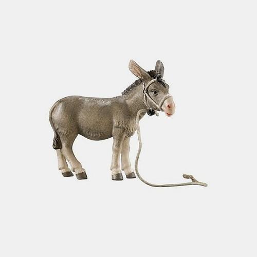 Handbemalte Kostner 061 Krippenfigur Esel für Herbergssuche / Flucht