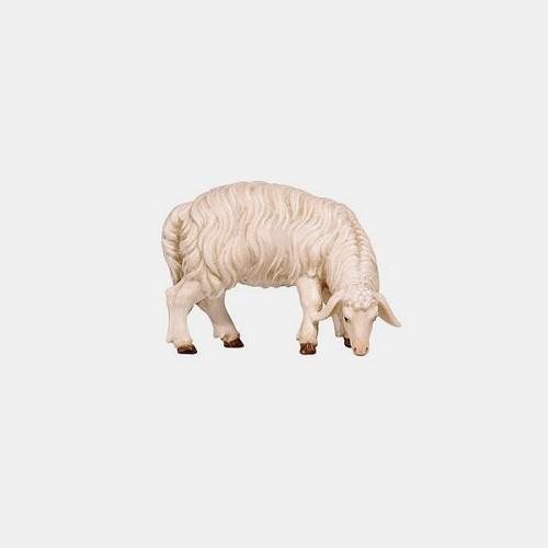 Handbemalte Kostner 257 Krippenfigur Schaf äsend rechtsschauend