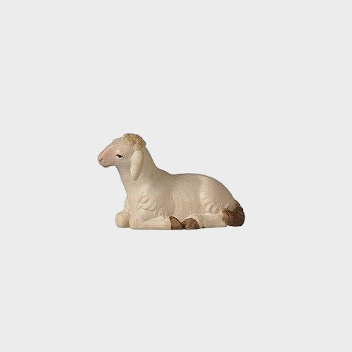 PEMA 251 Krippenfigur Schaf liegend vorwärtsschauend