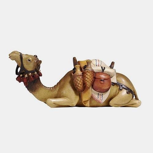 Handbemalte Kostner 172 Krippenfigur Kamel liegend