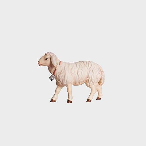 Kostner 258 Krippenfigur Schaf gehend mit Glocke