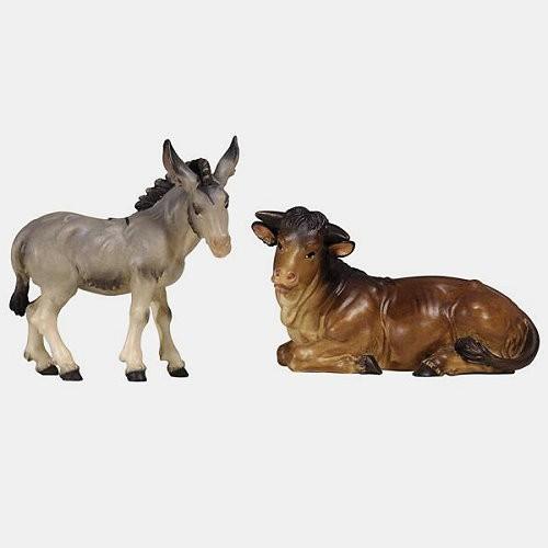 Rainell 512 Krippenfiguren Ochs und Esel