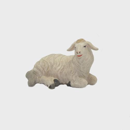 Zirbel 253 Schaf liegend rechtsschauend