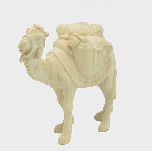 PEMA 171 natur Krippenfigur Kamel mit Gepäck