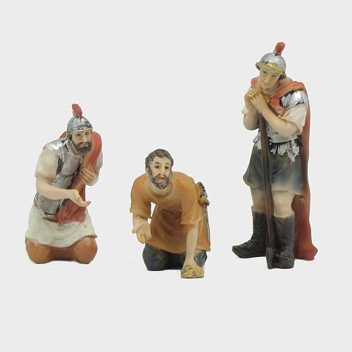 Passionsfiguren Spiel um die Kleidung 9cm