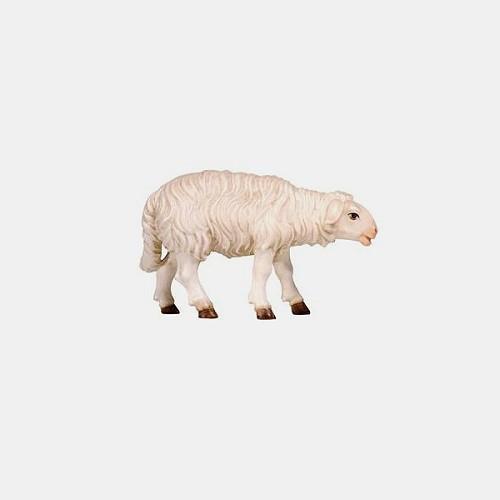 Handbemalte Kostner 260 Krippenfigur Schaf stehend vorwärtsschauend