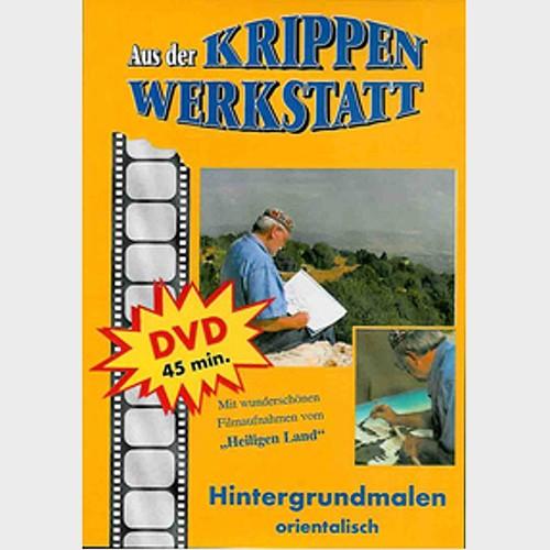 DVD Hintergrund malen orientalisch v. Peter Schrettl