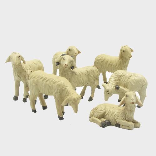 Krippenfiguren Schafe