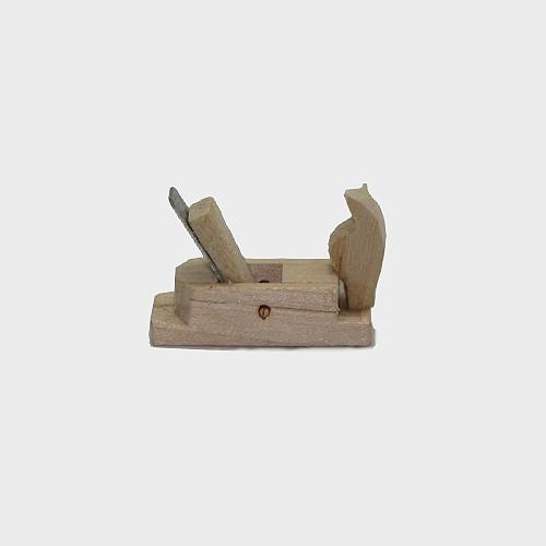 Krippendekoration Schreinerhobel aus Holz