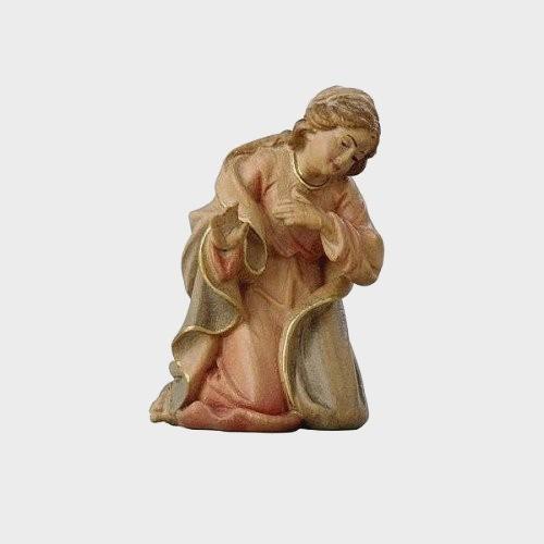Krippenfigur Zirbel 002 Heilige Maria