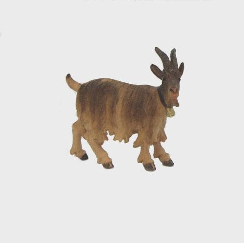 Zirbel 215 Ziege mit Glöckchen rechtsschauend
