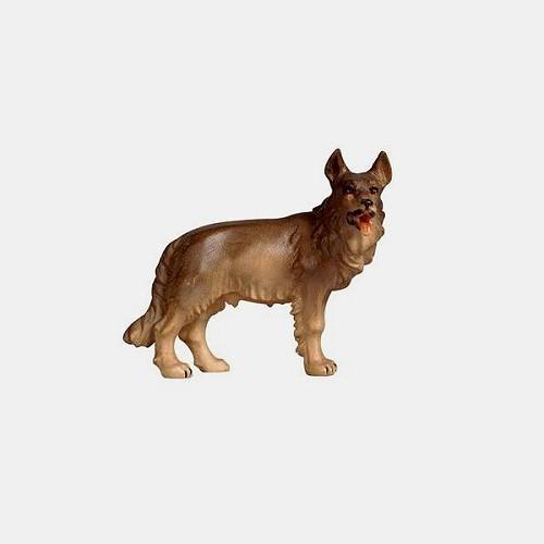 Handbemalte Kostner 157 Krippenfigur Schäferhund