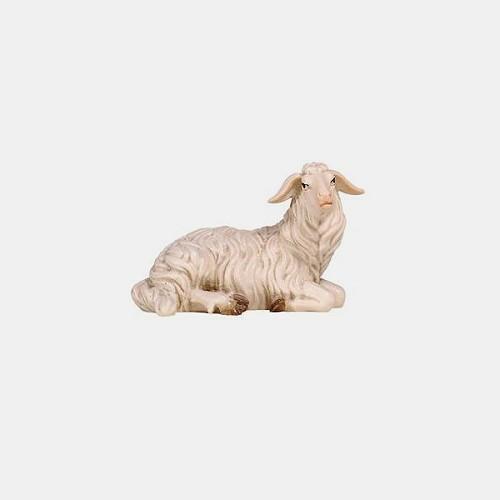 Mahlknecht 253 Krippenfigur Schaf liegend rechtsschauend