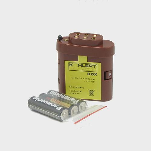 Krippenbeleuchtung Batteriebox