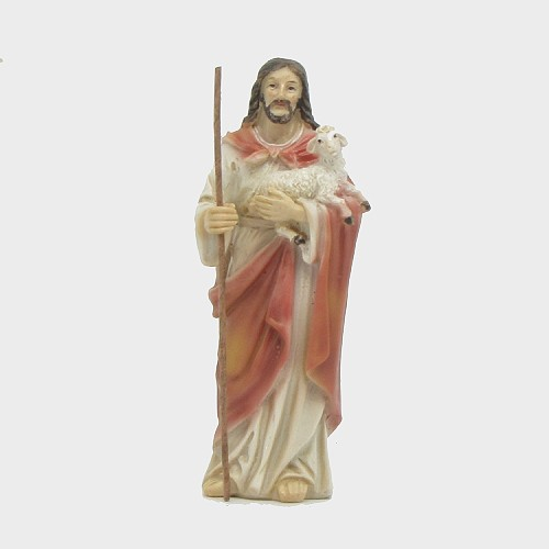 Passionsfiguren Jesus der gute Hirte 9cm