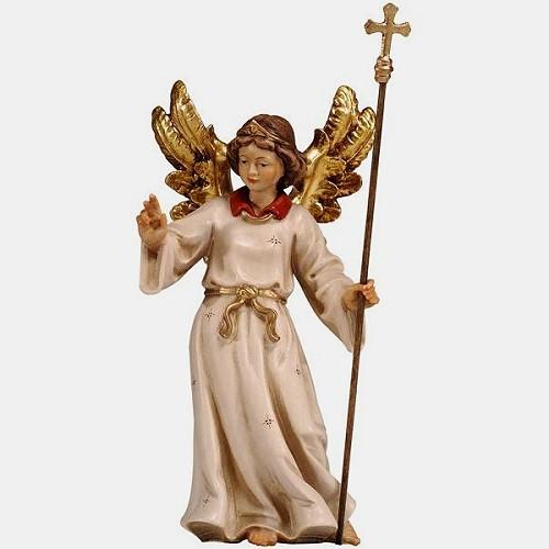 Handbemalte Kostner 069 Krippenfigur Wegweisender Engel mit Stab