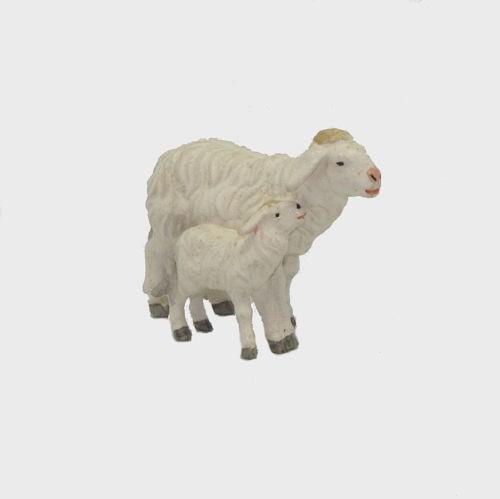 Zirbel 279 Schaf mit Lamm stehend