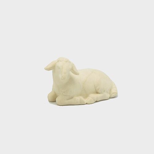 PEMA 252 natur Krippenfigur Schaf liegend linksschauend