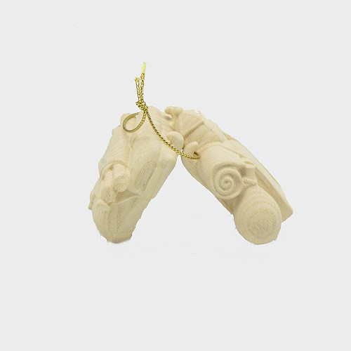PEMA 182 natur Krippenfigur Gepäck für Elefant