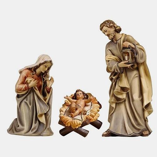 Handbemalte Kostner 502 Krippenfiguren Heilige Familie