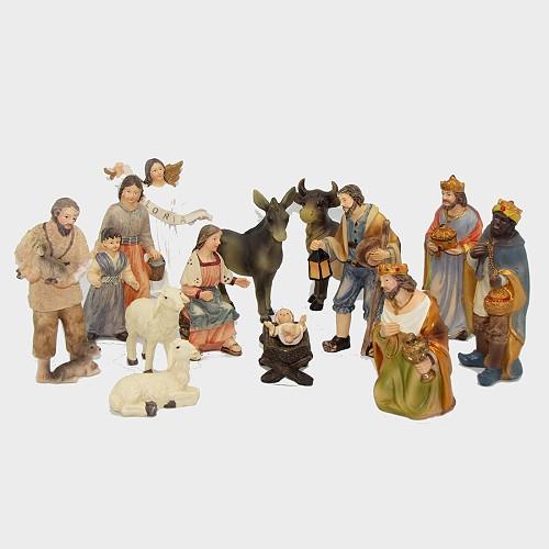 Krippenfiguren Bauernkrippe