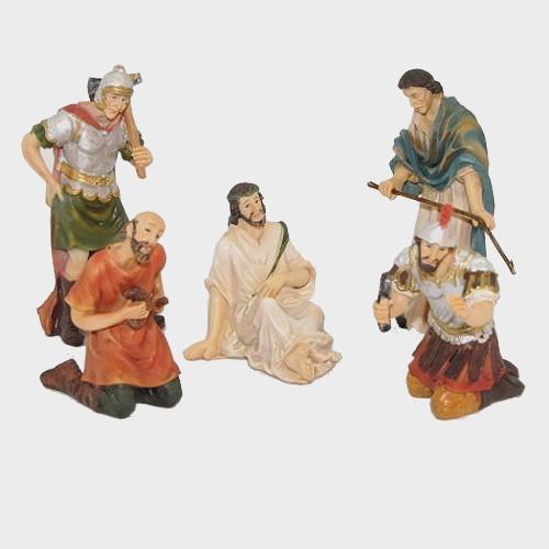 Passionsfiguren Dornenkrönung 9cm