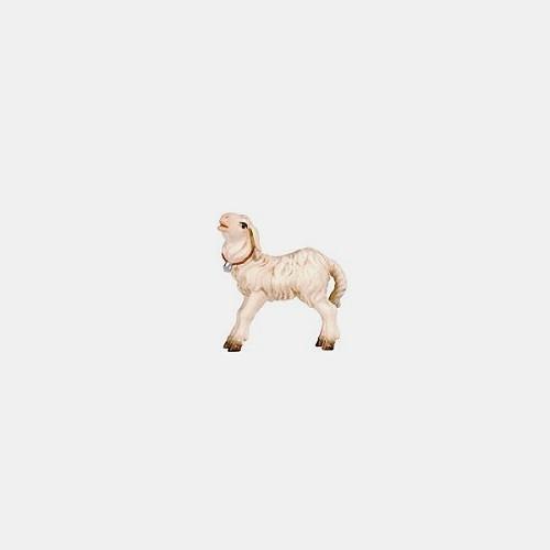Handbemalte Kostner 286 Krippenfigur Lamm stehend