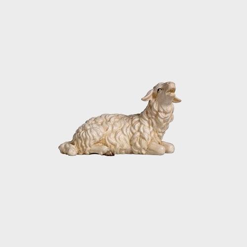 Rainell 250 Krippenfigur Schaf liegend Kopf hoch