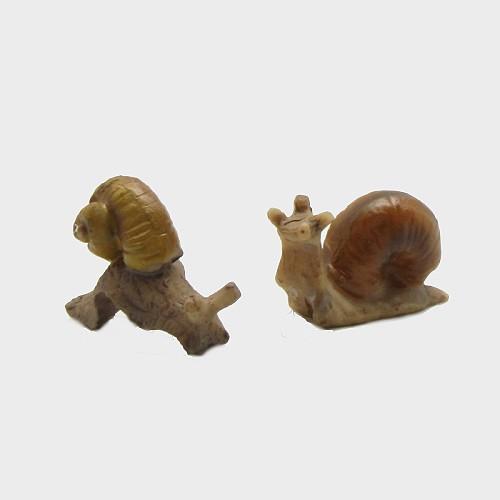 Krippenfiguren Schnecken