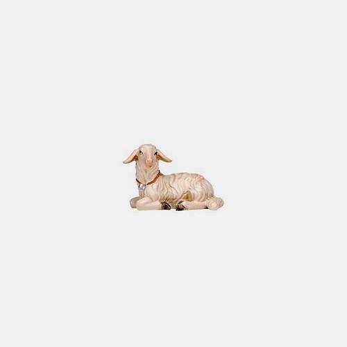 Rainell 282 Krippenfigur Lamm liegend linksschauend