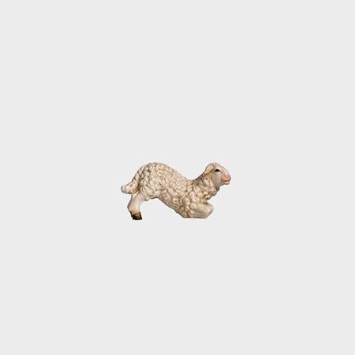 Rainell 285 Krippenfigur Lamm kniend