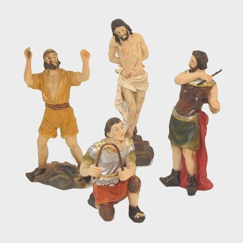 Passionsfiguren Geisselung 9cm