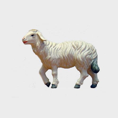 Krippenfigur Zirbel 259 Schaf stehend Kopf hoch