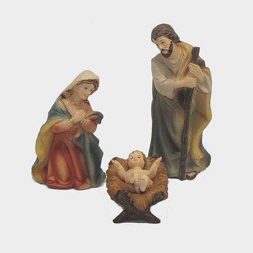 Krippenfiguren Hl. Familie Markuskrippe