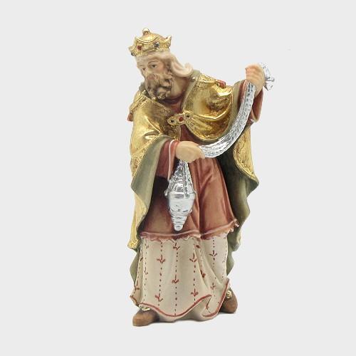 Mahlknecht 013 Krippenfigur König Weiß