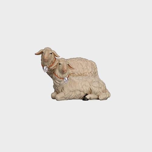 Rainell 270 Krippenfigur Gruppe mit 2 Schafe
