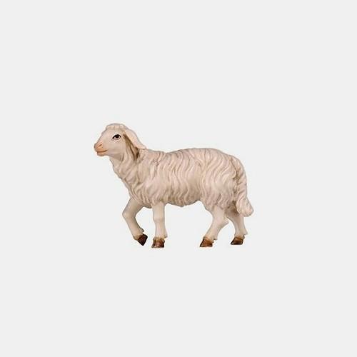 Rainell 259 Krippenfigur Schaf stehend Kopf hoch
